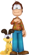 Jon and Odie