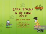 Little Trouble in Big China Part 2