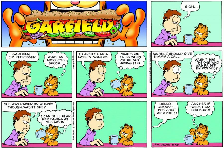 Garfield Comic Book