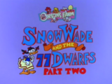 Snow Wade and the 77 Dwarfs Part 2