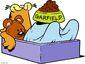 Garfield sleeping 2