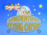 Unidentified Flying Orson
