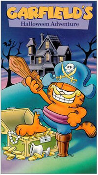 Garfield Halloween Adventure VHS cover