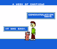 A Week of Garfield ending