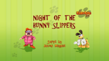 Night of the Bunny Slippers