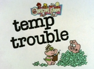 Temp Trouble Title Card