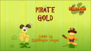 Pirate Gold Title Card