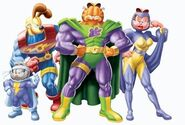 Garfield's Pet Force -Lineup