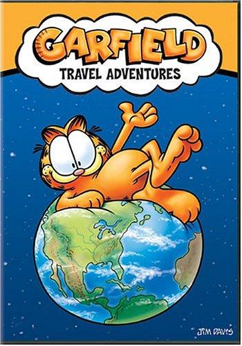 garfield travel adventures dvd