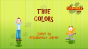 True Colors Title Card