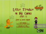 Little Trouble in Big China Part 1
