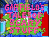Garfield's Tales of Scary Stuff