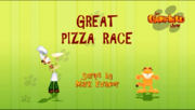 Great Pizza Race Title Card
