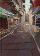Laoximen Street Colour Concept