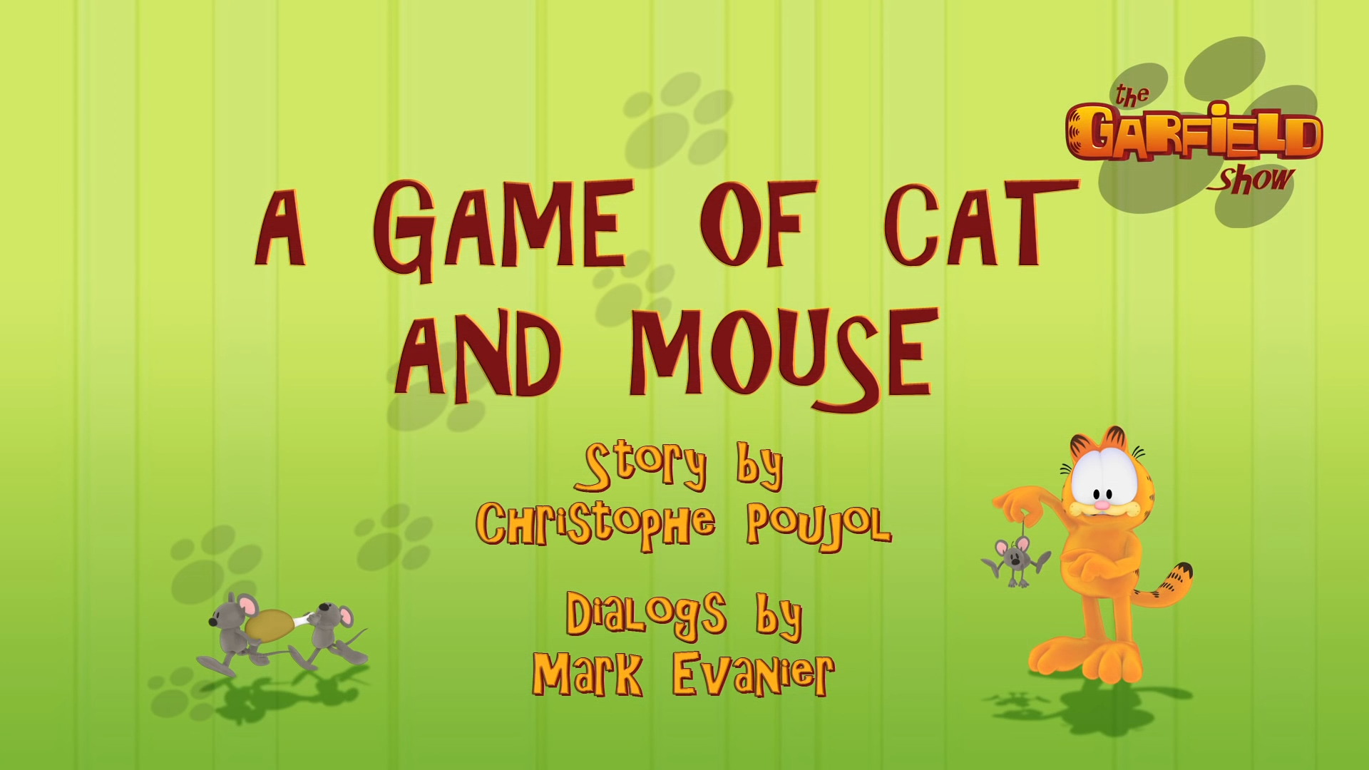Cat and mouse game
