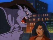 Goliath angry at elisa