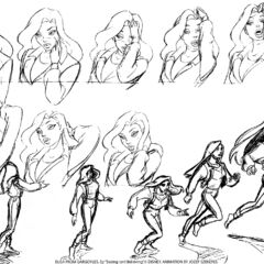 Elisa skeches by animator Jozef Szekeres for the episode <a href=