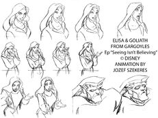 Elisa and goliath szekeres by elf fin