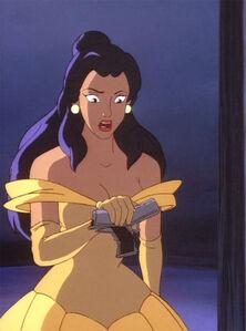 Elisa as Belle