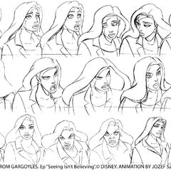 Elisa sketches by animator Jozef Szekeres for the episode <a href=