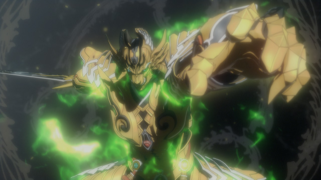 黄金騎士ガロ(紅蓮ノ月)