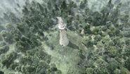 Tower of Heroic Spirits Aerial view