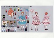 Sophie Hennes Dress Concept art GVL