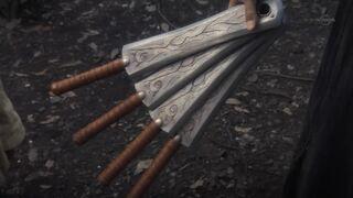 Soul Metal Garo Blades