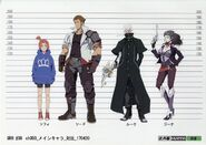 Main Cast Concept Art