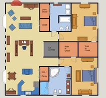 Brownstone Example Apartment