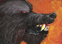 Moros wolf web
