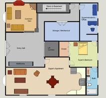 Brownstone First Floor