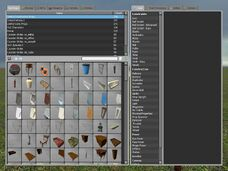 The spawn menu default