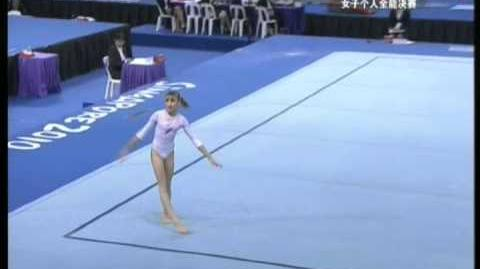 Viktoria Komova 2010 suelo