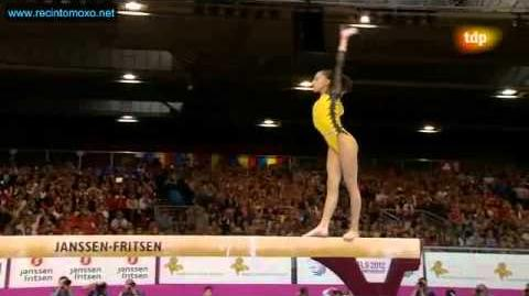 Larisa Iordache Barra Cto. Europa Final