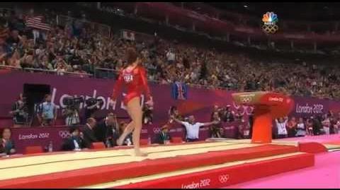 El mejor salto del mundo McKayla Maroney 2012 Team Final VT