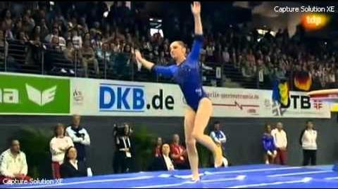 Aliya Mustafina lesión