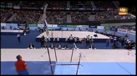 Mundial artística 2010. Final individual femenina 3 8