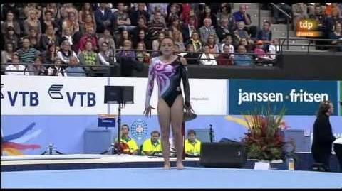 Mundial artística 2010. Final individual femenina 2 8