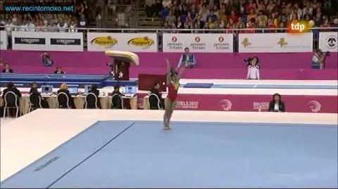 Ana Maria Izurieta floor exercice 2012 Team Final
