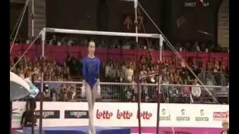 Victoria Komova Bruselas 2012 final asimétricas (1er