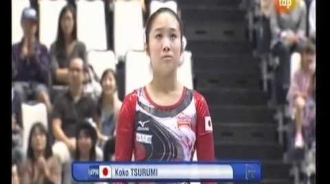 Mundial artística 2011 Tokio. Final individual (1 4)
