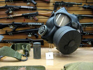 U.S. M5-11-7 Assault Gas Mask