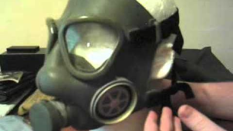 Yugoslavian M1 Gas Mask and JNA personal protection kit