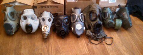 Mask collection so far