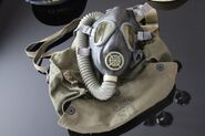 M3-10A1-6 Lightweight Service Gas Mask, Neoprene Facepiece