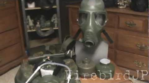 German M2000 Gas Mask