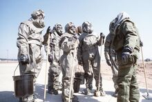 Heavy Decon Squad in Toxicological Agents Protective Gear