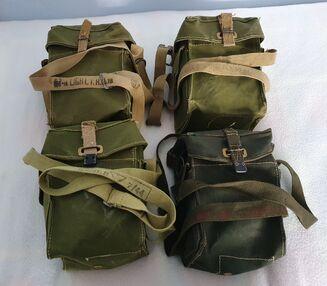 LAG Carriers I, II, II Light Green and II Jungle Green