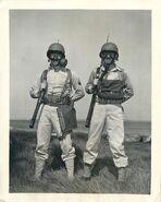 E6-3-7 Army Assault and M4-10A1-6 Lightweight Service Masks